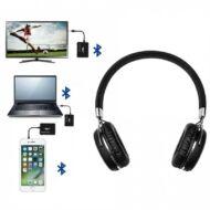 FEJH - TELLUR MORPHEUS ZEAL Bluetooth fejhallgató mikrofonnal+JACK adapterrel