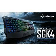 KEYB - Sharkoon Skiller SGK4 RGB HUN