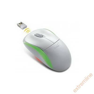 EG - GENIUS NetScroll NS-6000 Wir. White-Green