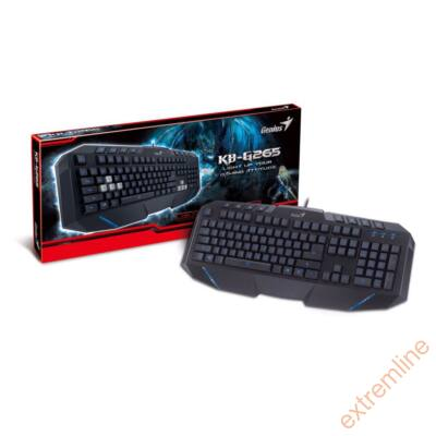 KEYB - GENIUS KB-G265 USB Gaming