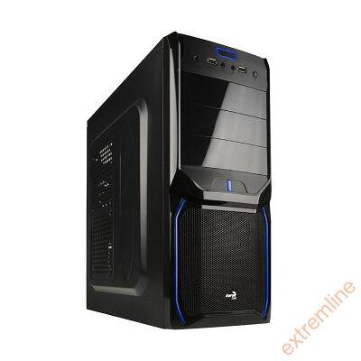 HZ - AEROCOOL V3X Evil Blue Ed. Midi táp nélkül