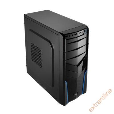 HZ - AEROCOOL V2X Blue Ed. Midi USB3 táp nélkül