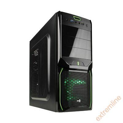 HZ - AEROCOOL V3X Evil Green Ed. Midi táp nélkül