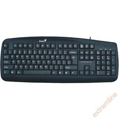 KEYB - GENIUS KB-110X fekete PS2