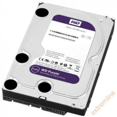 HDD - WD 6TB 5400RPM SATA3 WD60PURX 64MB