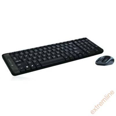 KEYB - Logitech MK220 fekete wireless billentyűzet+egér