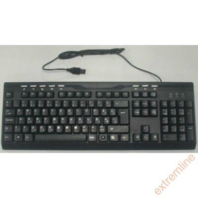 KEYB - Kolink USB HU Multimédia fekete