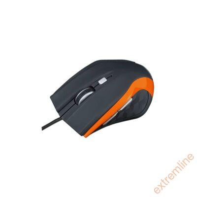 EG - Modecom M5 USB 2400 dpi fekete-narancs