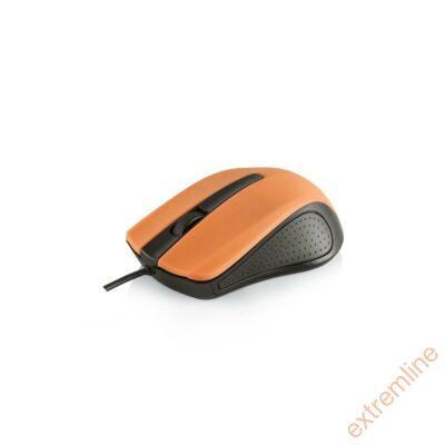 EG - Modecom M9 USB 1000 dpi fekete-narancs