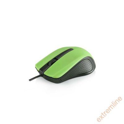 EG - Modecom M9 USB 1000 dpi fekete-zöld