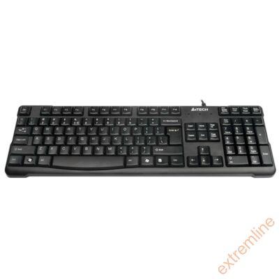 KEYB - A4Tech KR-750 Office USB billentyűzet lekerekített gombokkal