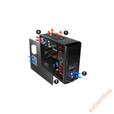 HZ - Thermaltake VM30001W2Z V4 Black Edition táp nélkül