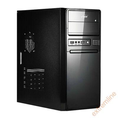 HZ - Spire SP1078B maneo 420W 12cm ATX fekete USB3.0