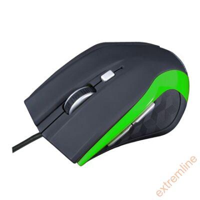 EG - Modecom M5 USB 2400 dpi fekete-zöld