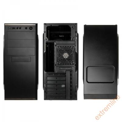 HZ - Kolink Midi fekete KLA-001 Midi táp nélkül USB3.0