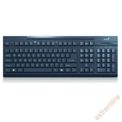 KEYB - GENIUS KB-125 fekete USB