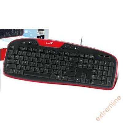 KEYB - GENIUS KB-M205 HU USB fekete