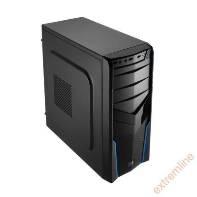 HZ - AEROCOOL V2X Black Ed. Midi USB3 táp nélkül