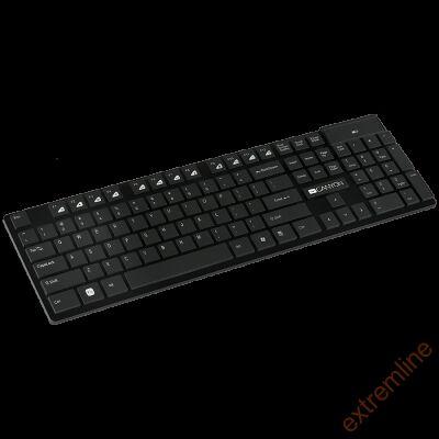 KEYB - Canyon CNS-HKBW2-HU 2.4GHZ wireless keyboard Black