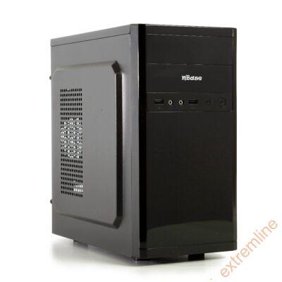 HZ - N-Case 633 Micro ATX N450 táppal