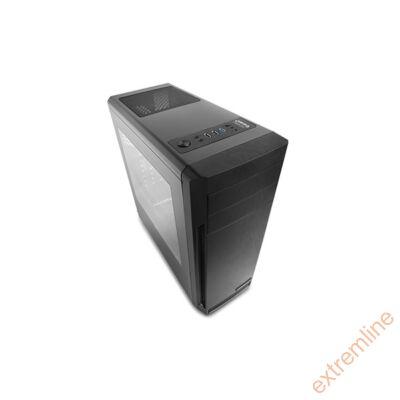 HZ - DeepCool D-SHIELD Fekete USB3.0 Táp nélkül alsó tápos