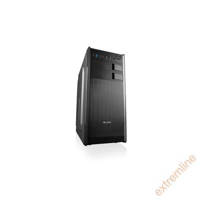 HZ - Logic K2 fekete mATX USB3.0