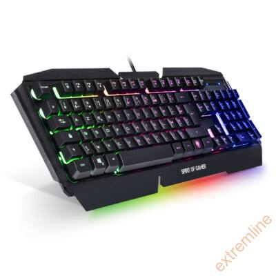 KEYB - Spirit of Gamer PRO-K5 RGB világítás