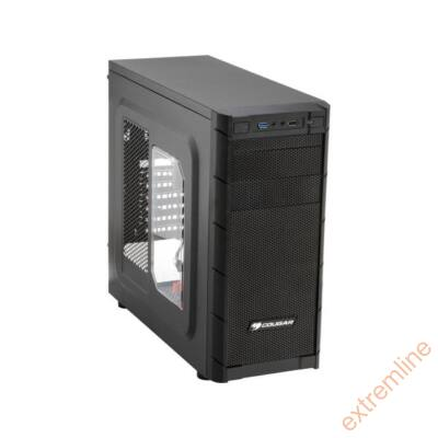 HZ - Cougar Archon ATX fekete alsó táp USB3  táp nélkül