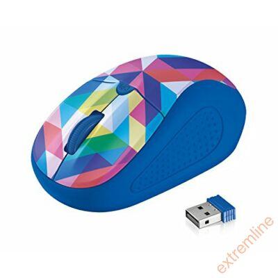 EG - Trust Primo Wless   kék-színes 1600dpi mini