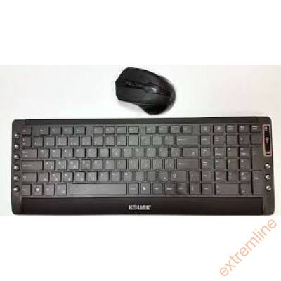 KEYB - Kolink CM-7000 Bill+Egér Wieless USB HU