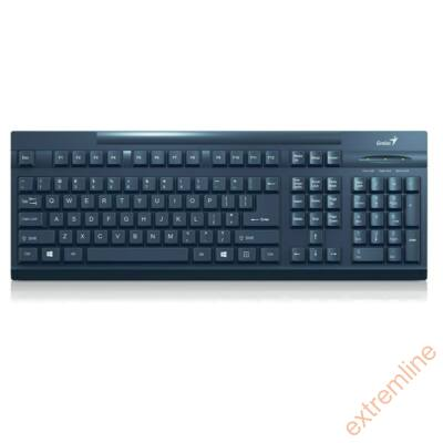 KEYB - GENIUS KB-128 fekete USB