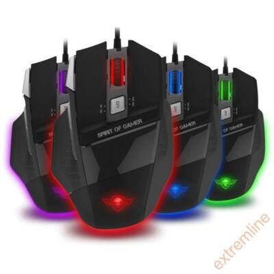 EG - Spirit of Gamer PRO-M8 light edition 3500dpi 7 gomb led