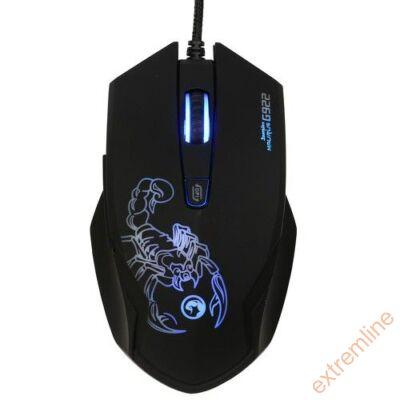 EG - Marvo G922 USB 4000 dpi 6gomb LED fekete