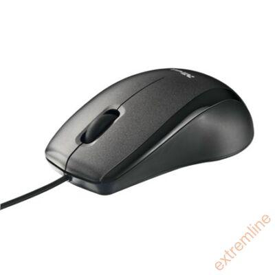 EG - Trust EasyClick egér fekete-ezüst USB