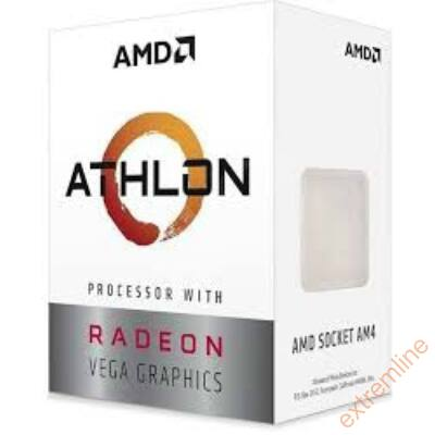 CPU - AMD Athlon 200GE 3.2GHz/2C/4M Radeon Vega 3  BOX AM4