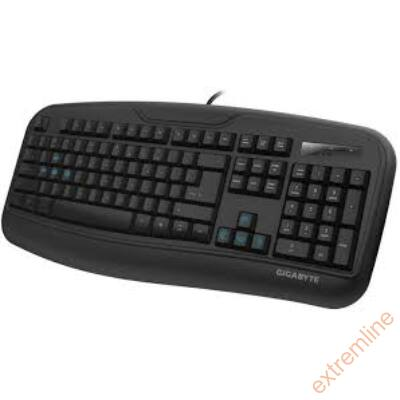 KEYB - GigaByte GK-Force K3 USB fekete billentyűzet