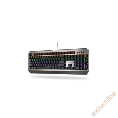 KEYB - AULA MOON SLASHER Gaming RGB fém billentyűzet,magyar