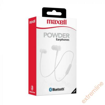FEJH - Maxell Powder Bluetooth fehér