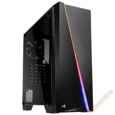 HZ - AEROCOOL Cylon Mini RGB mATX fekete
