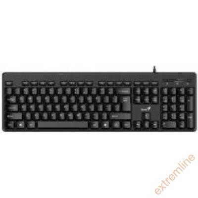 KEYB - GENIUS KB-116 fekete USB