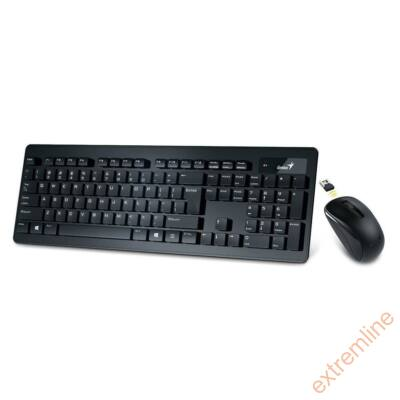 KEYB - GENIUS SlimStar 8005 USB wireless bill+egér