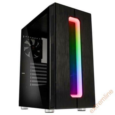 HZ - Kolink Nimbus RGB ATX üveg oldallal TÁP Nélkül