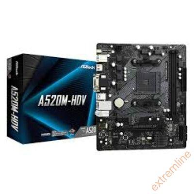 A - ASRock A520M-HDV AM4