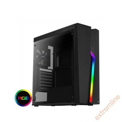HZ - AEROCOOL Bolt RGB ATX fekete