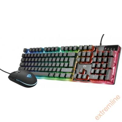 KEYB - Trust GXT 838 Azor Gaming Combo billentyűzet+egér