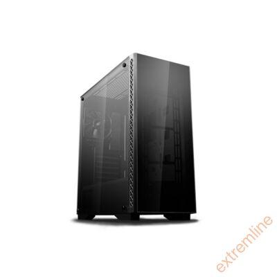 HZ - DeepCool  MATREXX 50 (fekete, fekete belső, ablakos, ATX, mATX, 1xUSB3.0)