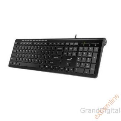 KEYB - GENIUS SlimStar 230 USB Fehér